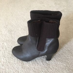 Bamboo brown boots 7